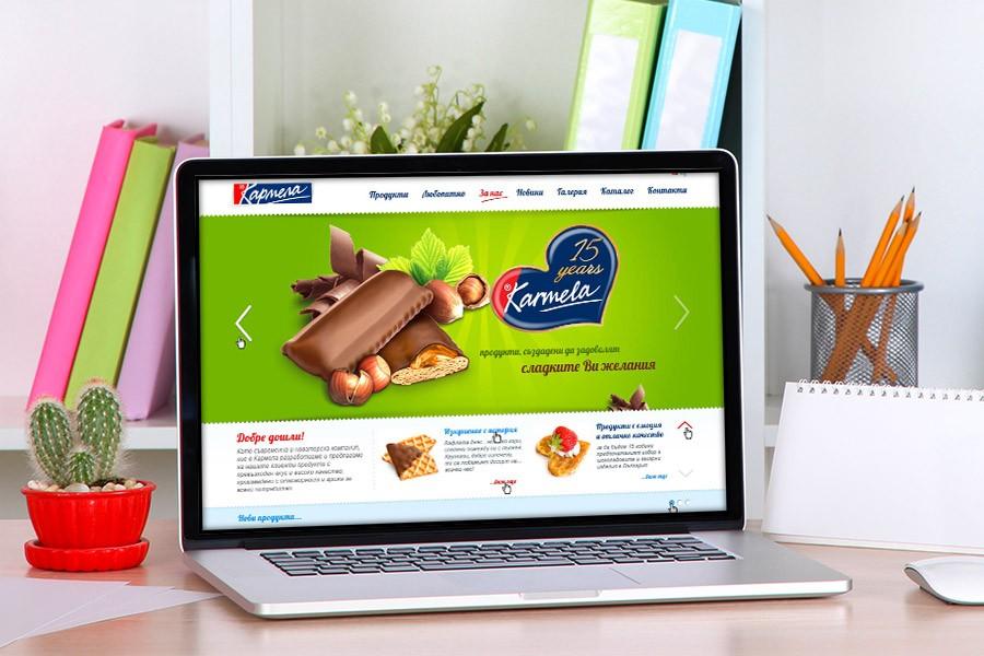 Уеб сайт на Кармела