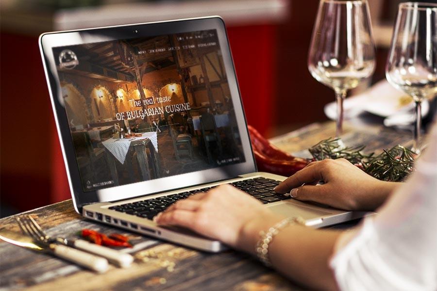 Уеб сайт на ресторант Под липите – редизайн