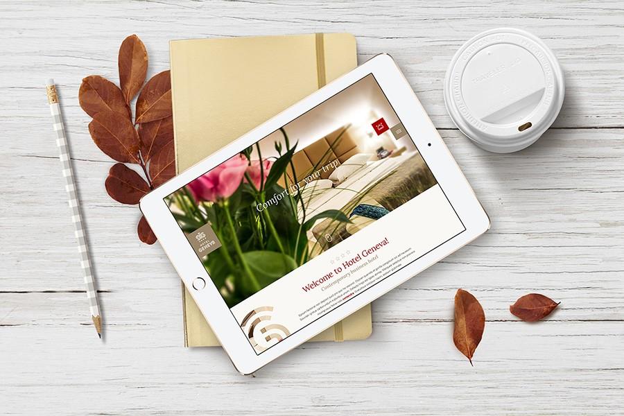 Уеб сайт на хотел Женева
