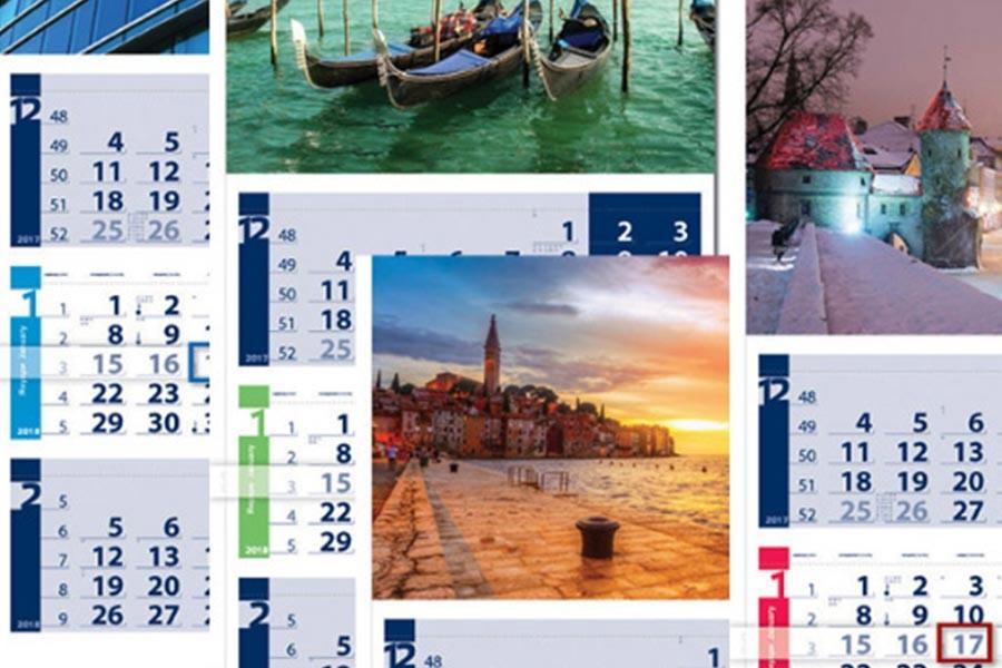 Работни календари 2019