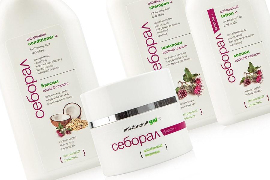 Дизайн на етикети за козметика Себорал