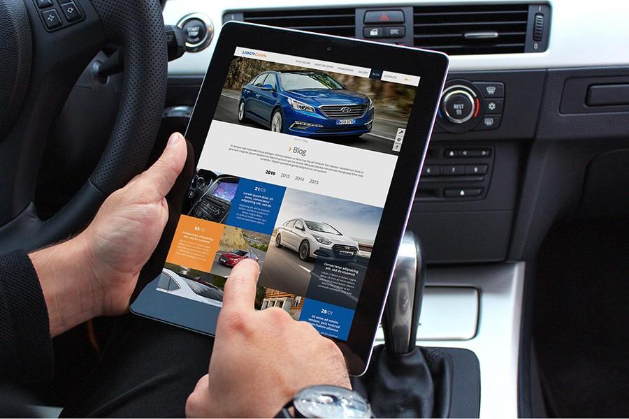Уеб сайт за автомобили Либер карс