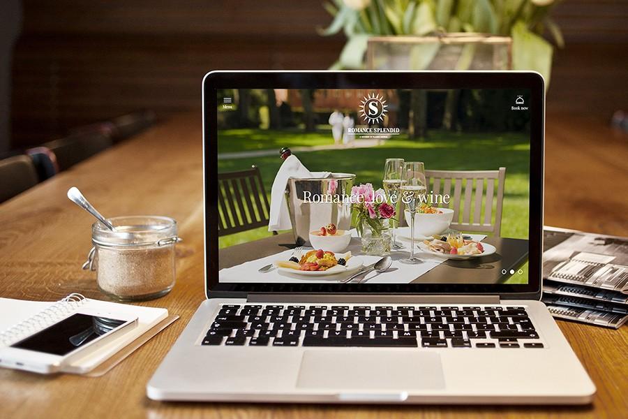 Уеб сайт за СПА Хотел Романс Сплендид
